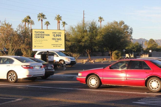 outdoor mobile billboard Tucson